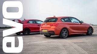 شاهد: من الاسرع BMW الفئة الأولى أم هوندا سيفيك Type R؟
