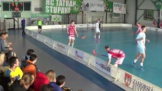 23. 2. 2019 JEX 1. štvrťfinále play off Tsunami Záhorská Bystrica - 1.FBC Florbal Trenčín, Slov. zväz florbalu