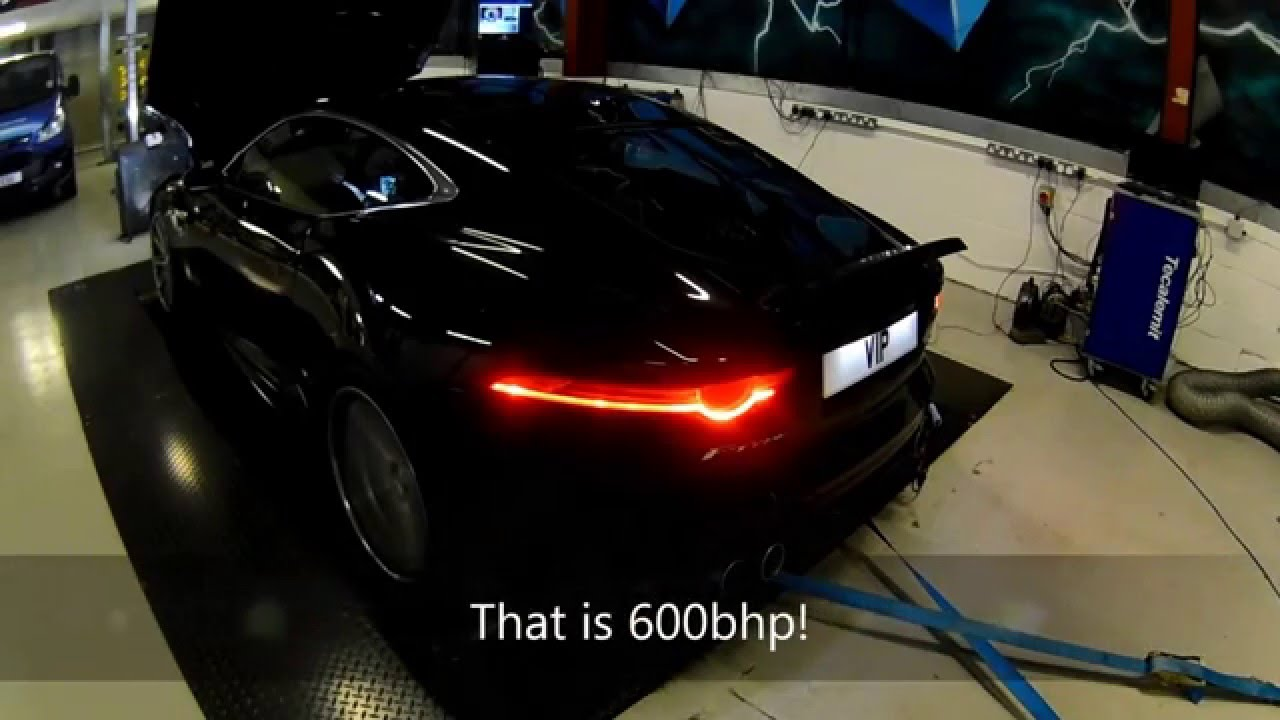 Jaguar F Type R Exhaust >> 600bhp Jaguar F Type On The Dyno, F-Type Tuning and ...