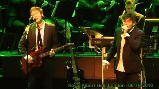 a-ha live - Dream Myself Alive  (HD), Royal Albert Hall, London 08-10-2010