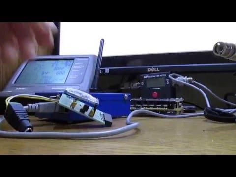 Fox Delta and  MR100 antenna analyzer