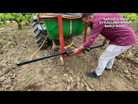 Kadıoğlu Nano B - Bağ Bahçe Tipi Ot Ilaçlama (herbisit) Aparatı