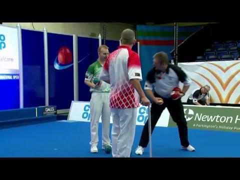 Co-op Funeralcare Scottish International Open 2017: Round 2 - Danny Denison V Nick Brett