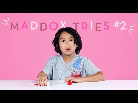 Maddox Tries: Part 2 | Kids Try | HiHo Kids