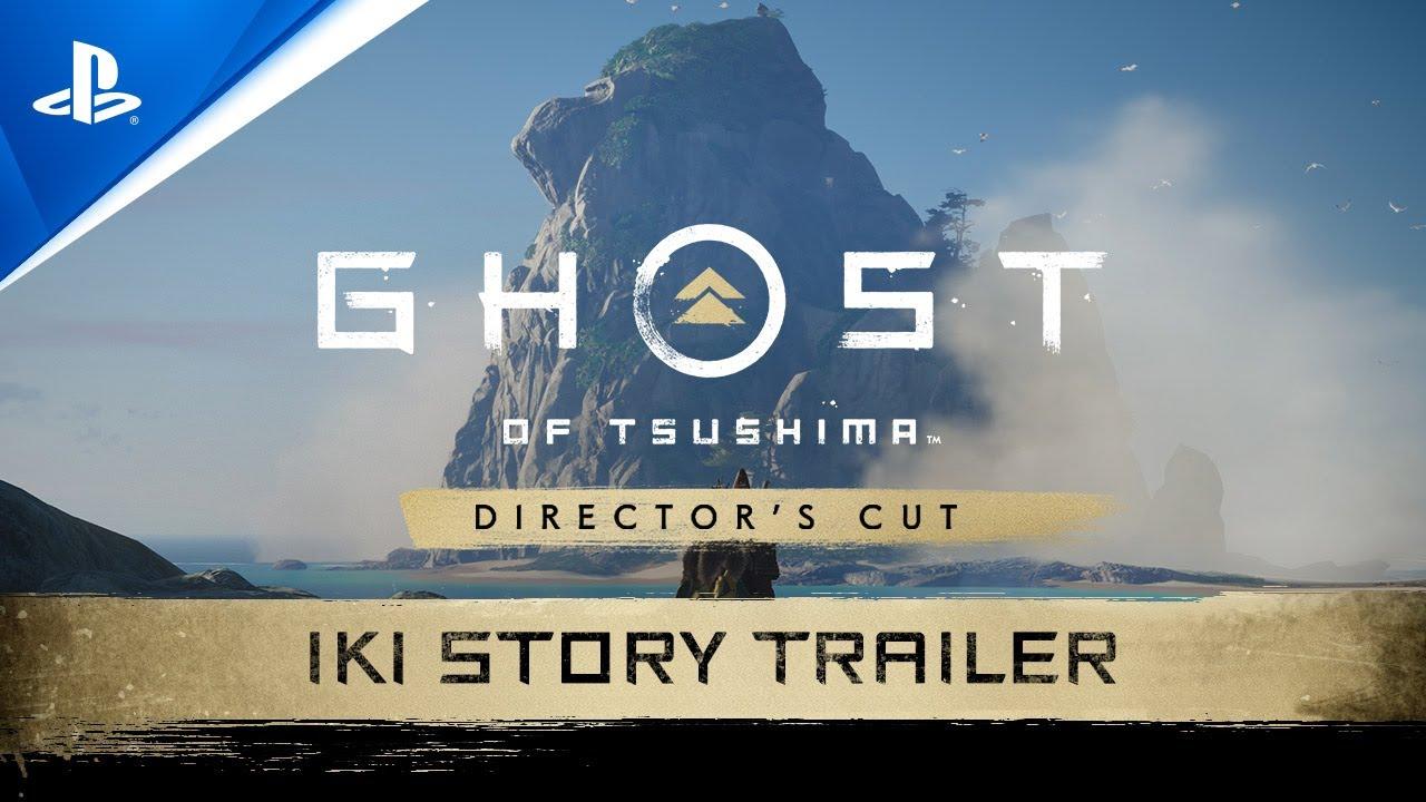 Ghost of Tsushima Directors Cut - Iki Island Trailer | PS5, PS4