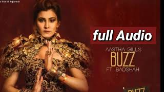 Buzz full audio song ,Aastha gills Ft.Badshah