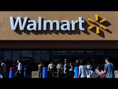 iPhone 5 at Center of Walmart-Best Buy Rift