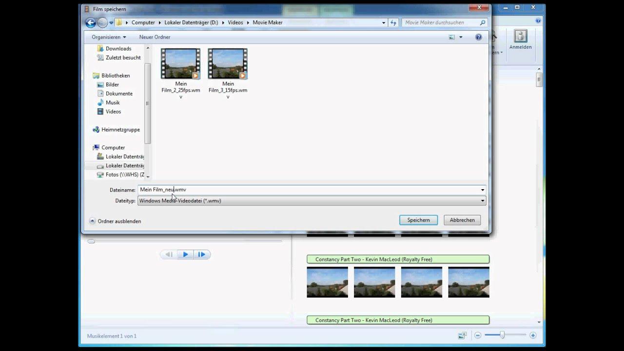Windows Live Movie Maker - einfaches Zeitraffer Video erstellen ...