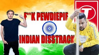 PEWDIPIE DISSTRACK BY INDIAN ROASTER || PEWDIEPIE VS TSERIES