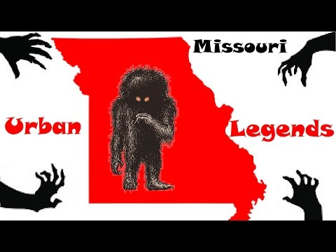 MISSOURI'S CREEPIEST URBAN LEGENDS!
