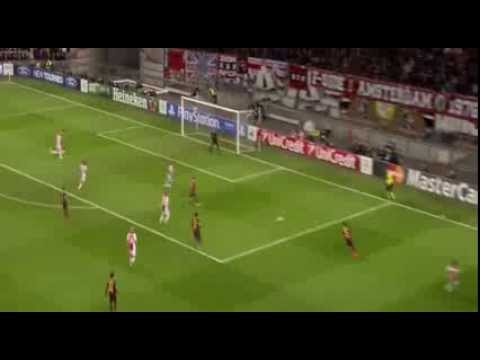 Thulani Serero Goal Ajax 1 - 0 FC Barcelona HD