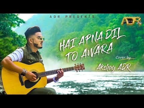 Hai Apna Dil To Awara | Hemant Kumar ji | Cover | Akshay ADR | Recording Euphonious studio