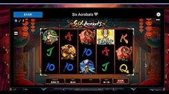 Six Acrobats - Online Canadian Slot - Big Wins and Bonuses (Part 1)