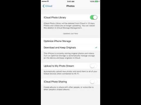 How To Use iCloud Photo Library Part 2