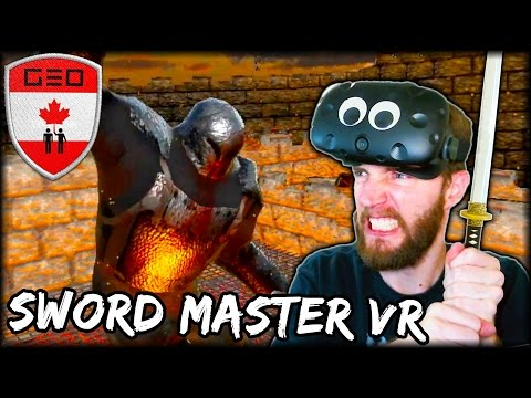 DUELING KNIGHTS IN VIRTUAL REALITY | HTC VIVE (Sword Master VR)