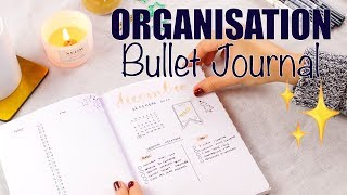 ORGANISATION : le BULLET JOURNAL   3 exemples (minimaliste, décoration facile, doodle)