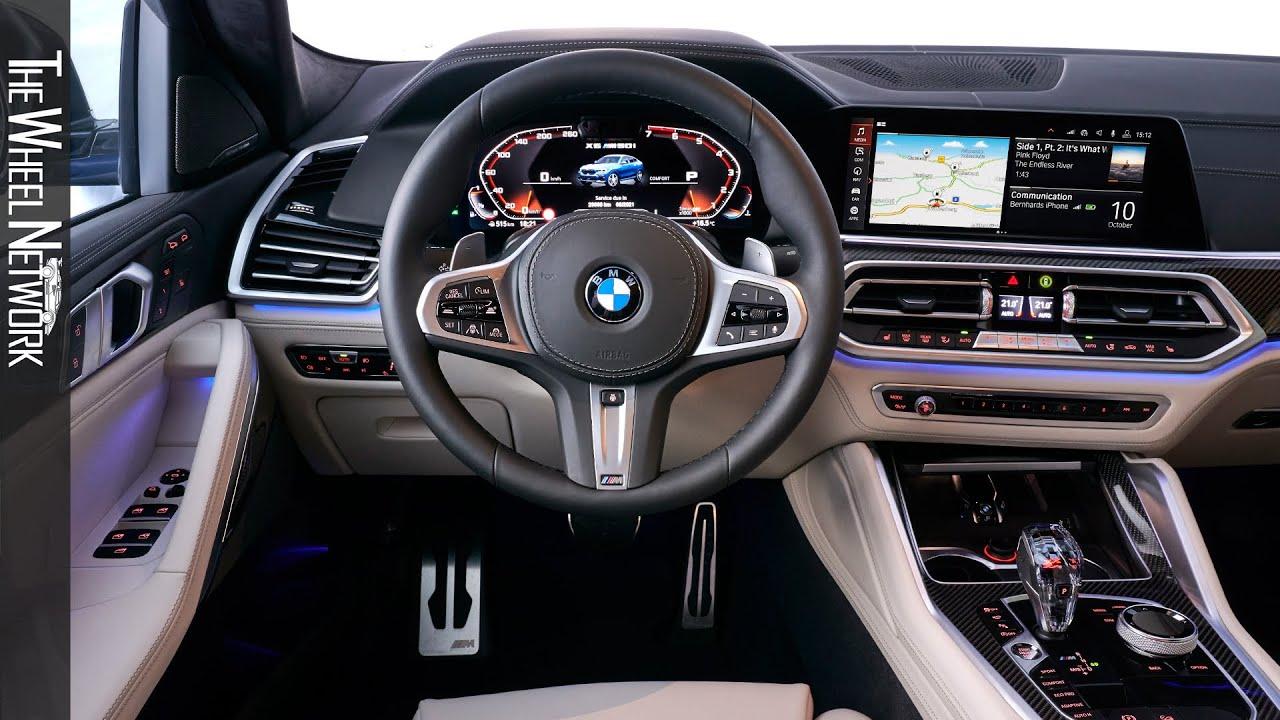 Bmw 2020 Inside Bmw X6 M50i