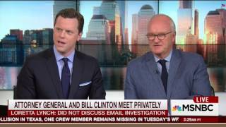 Morning Joe blasts Loretta Lynch for privately meeting with Bill Clinton amid email probe