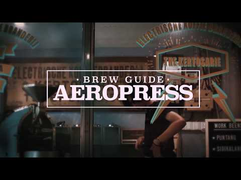AEROPRESS ( Kamubisa x Workcoffee ) How to make