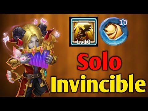 Invincible Rambard 😲😲   Solo Guildwar Vs 1.83 Million   Best Build   Castle Clash