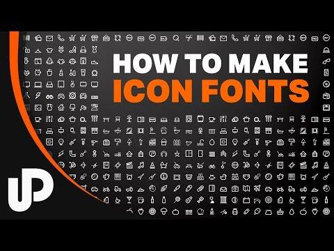 Webdesign Icon Font nutzen und selber machen? Kein Problem! | #Tutorial #Webdesign
