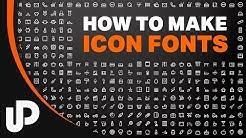 Webdesign Icon Font nutzen und selber machen? Kein Problem! [Tutorial]
