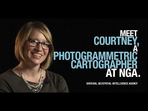 Meet Courtney, a photogrammetric cartographer at NGA