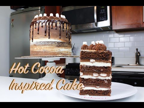 Hot Cocoa-Inspired Cake | CHELSWEETS