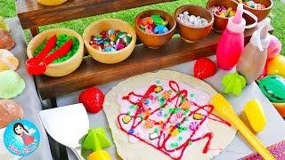 ละครสั้น-เจ้เปิดร้านขายเครปเย็น-ไอศกรีม-ของเล่นทำอาหาร-cooking-play-doh-food-toys