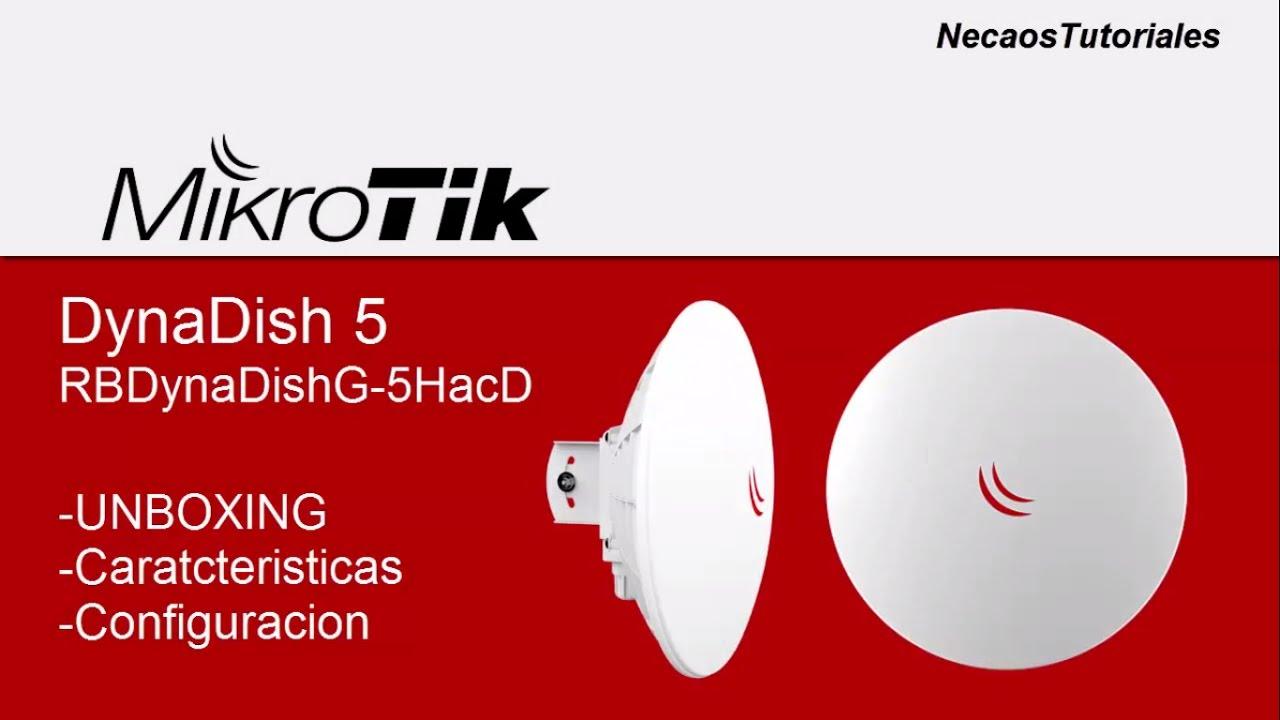 Mikrotik DynaDish 5 (RB DynaDish G-5 HacD)