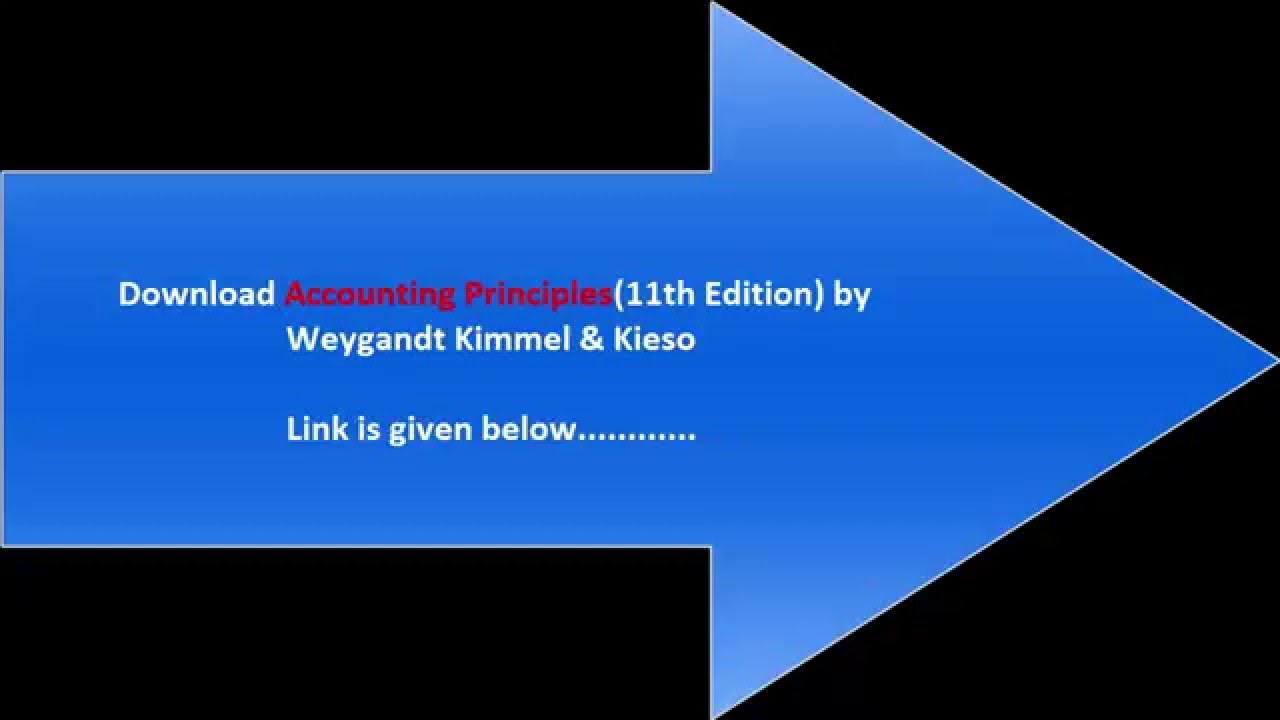 Accounting principles eleventh edition test book free download youtube fandeluxe Image collections