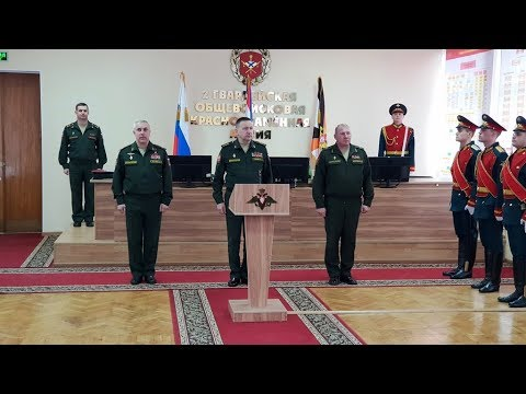 Личный штандарт командарма! Андрей Колотовкин возглавил самарскую общевойсковую армию