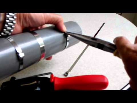 how to use cv boot clamp tool