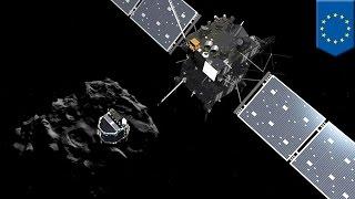 彗星着陸機フィラエ 着地点ずれて高温破壊回避