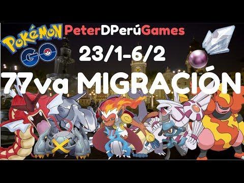 """77va Migración""""Sinnoh"""" & Nuevos Nidos Completos Lima Perú - Pokemon Go[PeterD'PerúGames] thumbnail"""