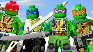 ЧЕРЕПАШКИ-НИНДЗЯ в LEGO Marvel's Avengers!