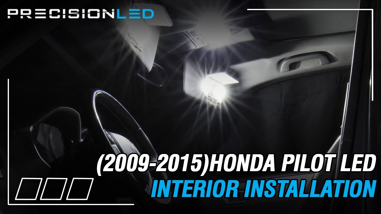 Honda Pilot Led Interior How To Install 2nd Gen 2009 2015 Youtube