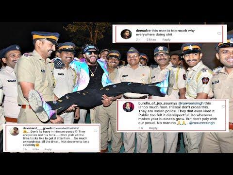 Ranveer Singh INSULTS Mumbai Police, Gets TROLLED At Umang 2019 thumbnail