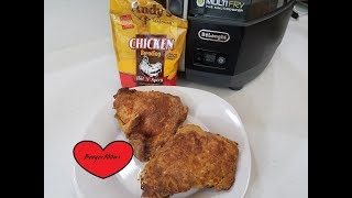 HOT AND SPICY FRIED CHICKEN AIR FRYER Andy's breading review