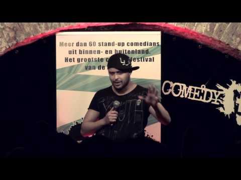 Badr @ Utrecht International Comedy Talent Award