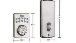 How To Operate The Kwikset 264 Contemporary Electronic Deadbolt Door Lock