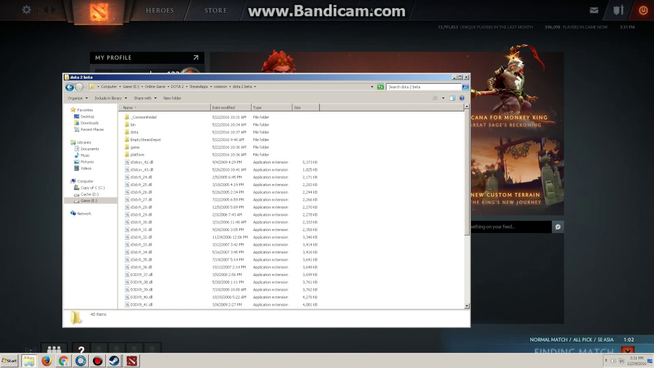 How to get Dota 2 replay file