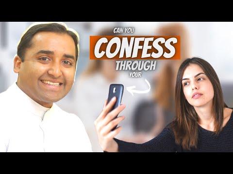 Can you do ur CONFESSION through your MOBILE ? ( Fr Jijo Manjackal )