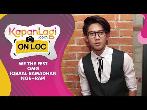 OMG, Iqbaal Ramadhan Nge-rap!