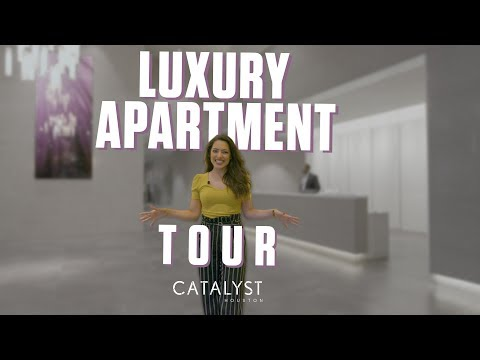 The Downtown Houston Luxury Apartment Tour that is LIKE NOTHING ELSE!