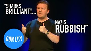 Ricky Gervais On Sharks & Anne Frank | Universal Comedy