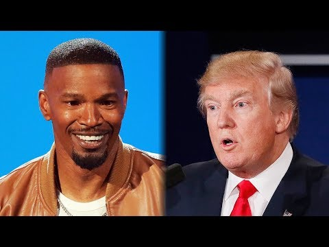 Jamie Foxx DISSES Trump During Opening Monologue At 2018 BET Awards