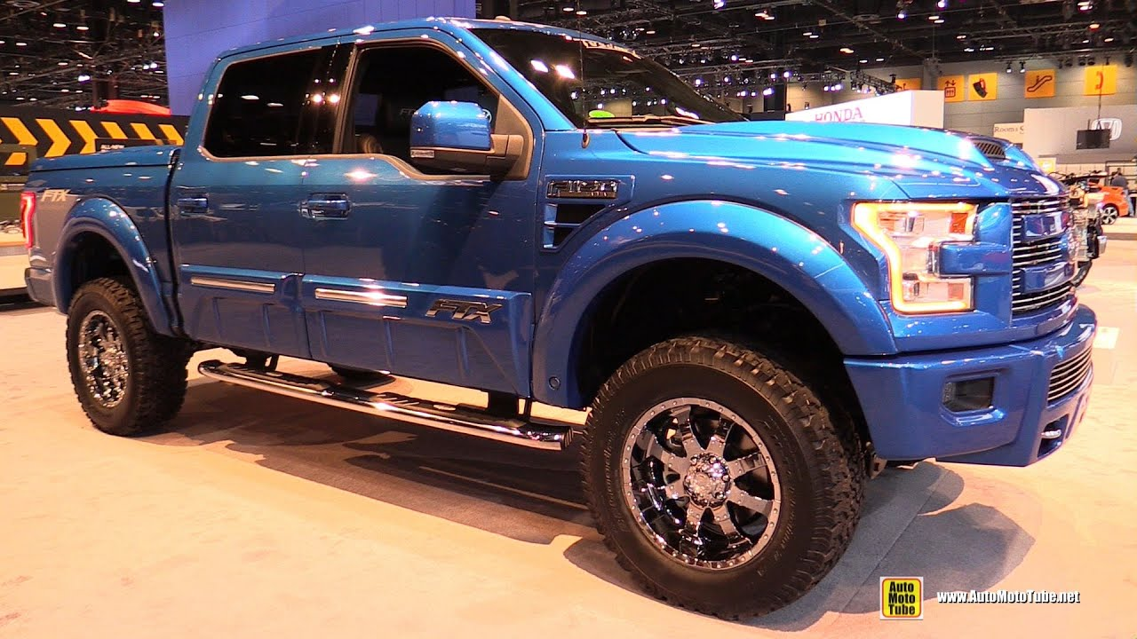 2015 Ford F150 Ftx Edition By Tuscany Exterior And Interior