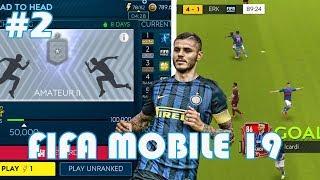 PIERWSZE MECZYKI!   FIFA 19 MOBILE #2