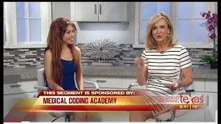 Medical Coding Academy on Good Morning Texas